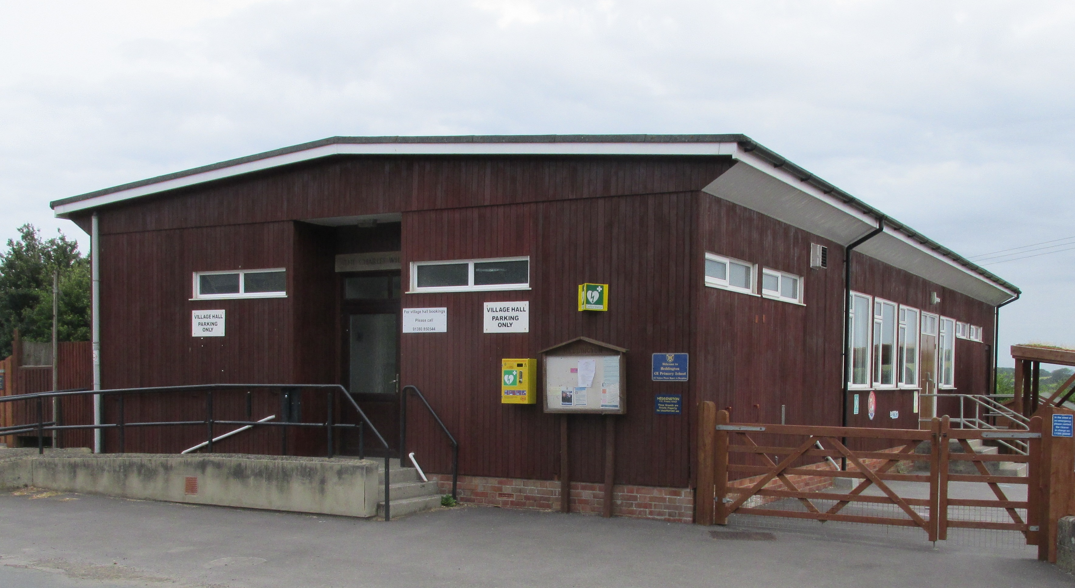 Heddington Charles Willis Village Hall
