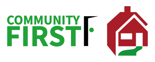 community first wvha logo lock-up