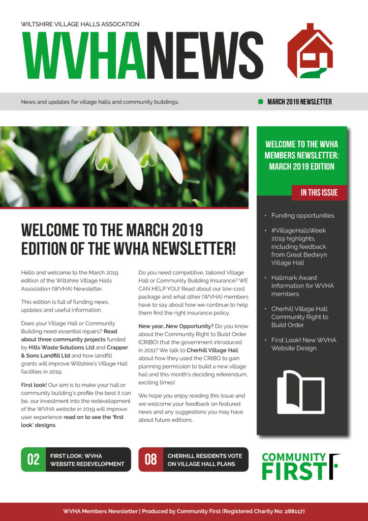 WVHA Example Newsletter