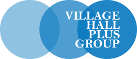 VILLAGE HALLS plus group logo