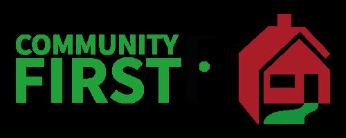 community first wvha logo lock-up