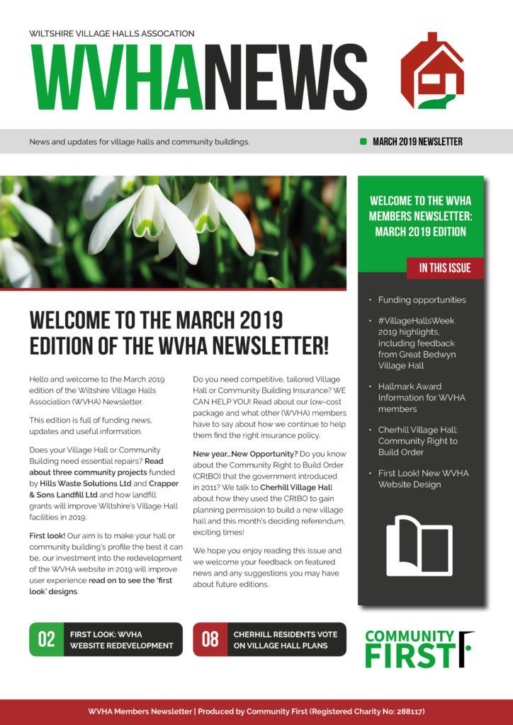 WVHA Example Newsletter