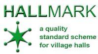hallmark village halls scheme logo